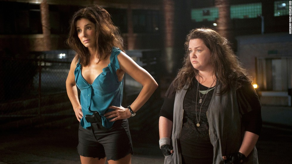 "If two officers, agents or other unlikely buddies are paired, they must not like each other from the start. But don't worry, the love will come. Such is the case with Sandra Bullock and Melissa McCarthy's characters in ""The Heat."""