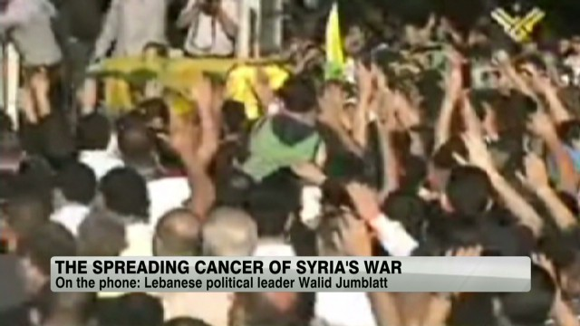 The spreading cancer of Syria's war