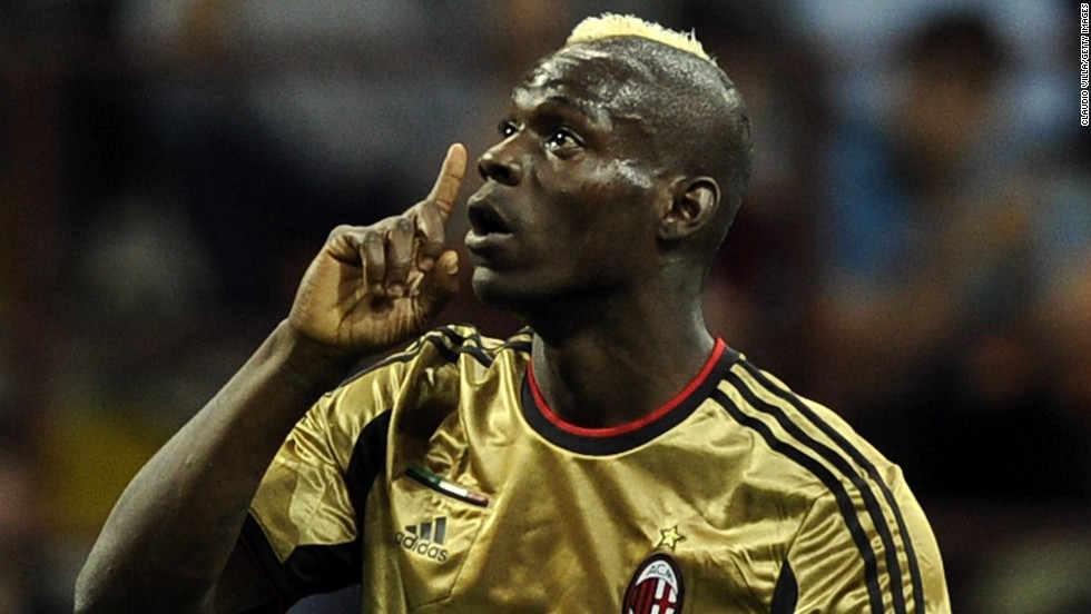 Boateng's AC Milan teammate Mario Balotelli has been the subject of racial abuse over a number of years. He and Boateng were abused by AS Roma fans during a match at the San Siro in May that was briefly suspended by the officials as a result. A public address announcement implored visiting supporters to stop their chants.