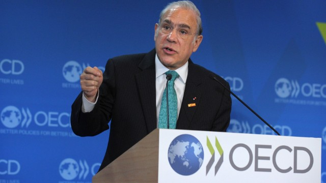 Angel Gurria of the OECD