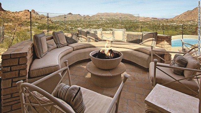 Because you've always dreamed of a stone-paved, multi-level patio, the Casa Five suite at Sanctuary Camelback Mountain gives it to you.