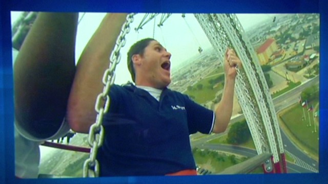 Go for a ride on world's tallest swing