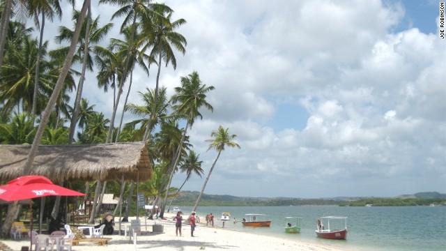 Praia dos Carneiros, part of a seemingly endless supply of tropical shoreline.