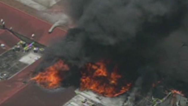 4 firefighters killed in Houston fire