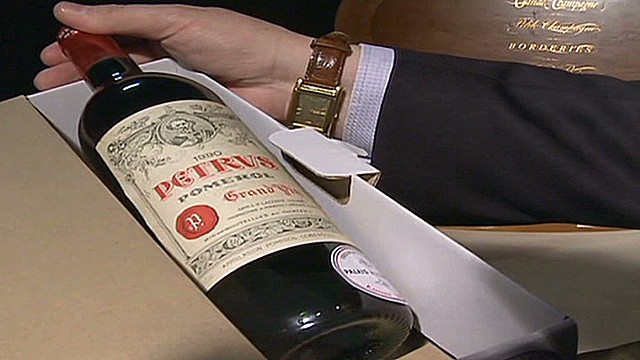 France's presidential wine auction