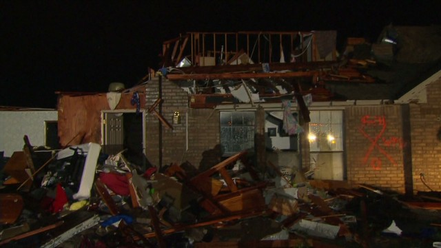 Man loses house, but family is ok