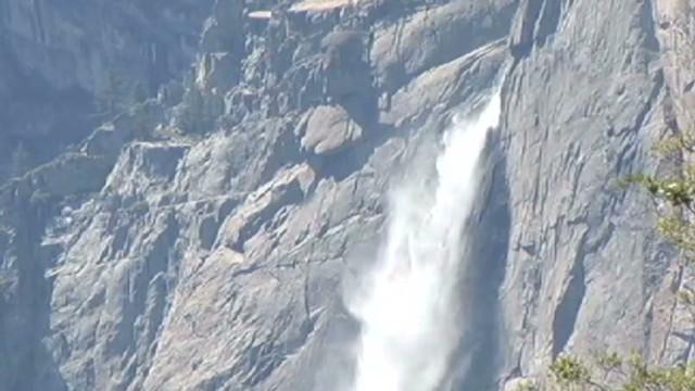 Teen swept over Yosemite waterfall