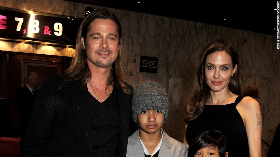 "Now 9, Pax was spotted out with his parents and older brother, Maddox, at his dad Pitt's ""World War Z"" movie premiere in London on June 2, 2013."