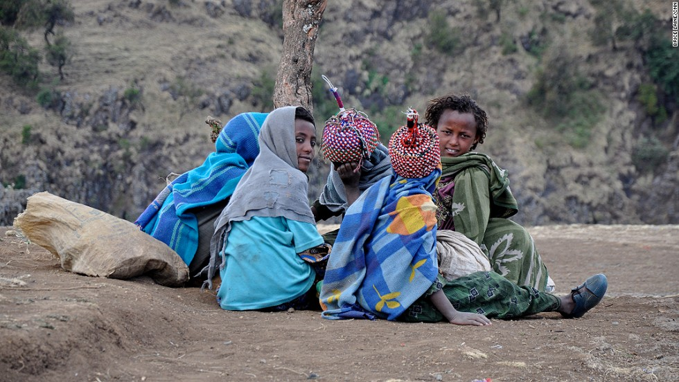 The central highlands of Ethiopia are home to the Amhara ethnic group.