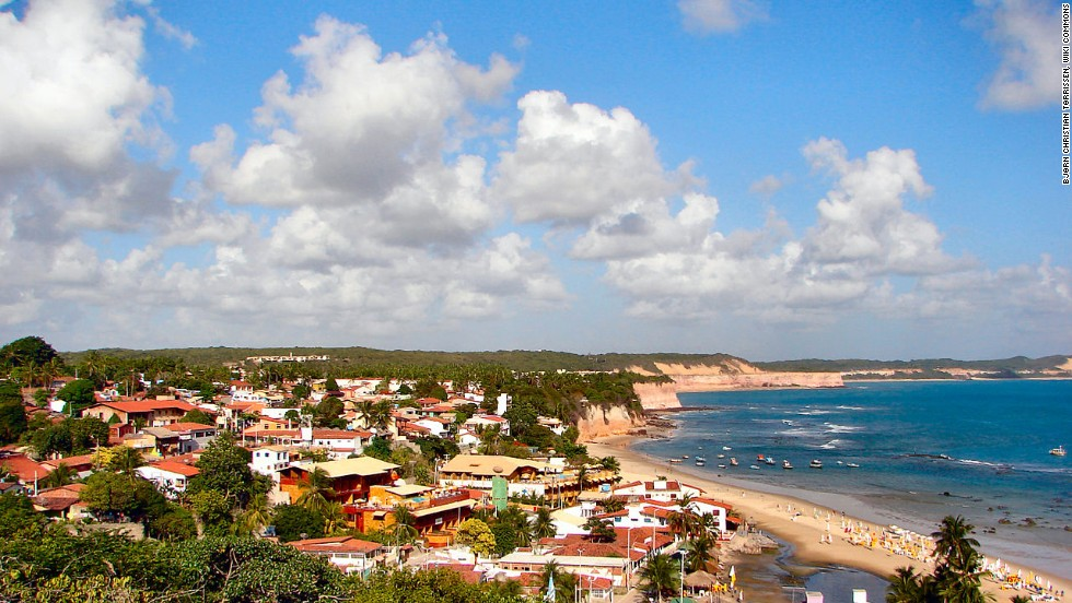 A former backpacker's hangout, Praia da Pipa's attractions are the steep pink cliffs rising above the sand and healthy remnants of the great Atlantic Forest that once covered the coast.