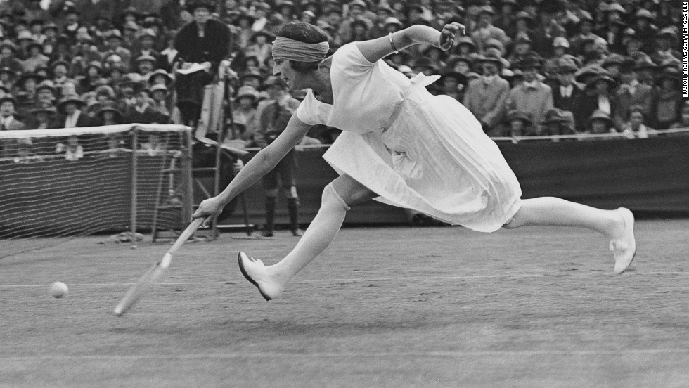 """When she was young, she studied dance -- she studied ballet and people said she played tennis like a dancer,"" Engelmann says. ""She walked around the court between points on her tip toes. She posed a certain way when she was going to serve."""