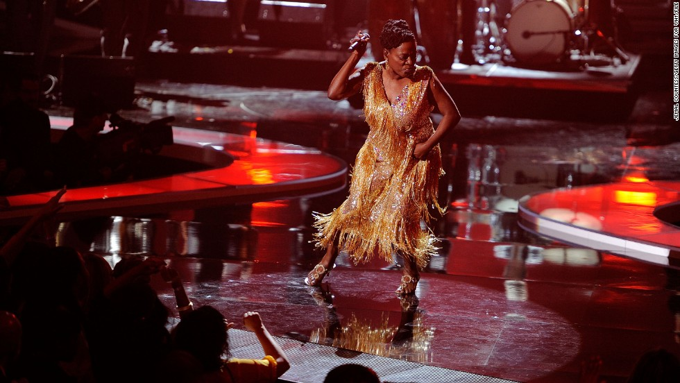 """Sharon Jones held off plans to tour and release a new album with the Dap-Kings <a href=""""http://www.cnn.com/2013/06/04/showbiz/music/sharon-jones-tour-postponed-cancer/index.html?iref=allsearch"""" target=""""_blank"""">after being diagnosed</a> with stage 1 bile duct cancer in 2013."""