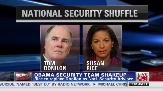 Obama's security team shuffle