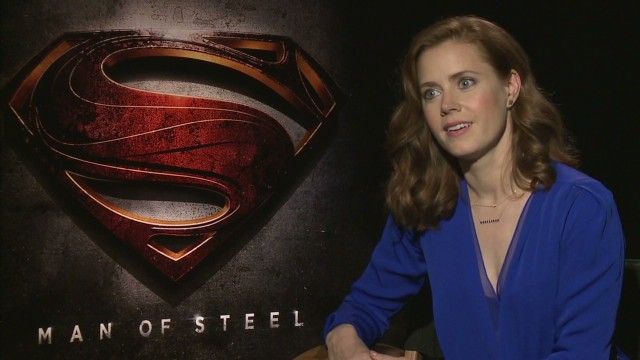 Amy Adams finally gets to play Lois Lane