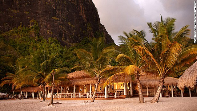 Bayside Beach Bar: what we dream of when we dream of the Caribbean.