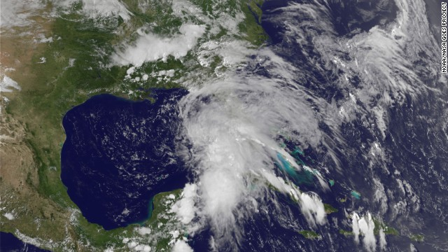 Bracing for Tropical Storm Andrea