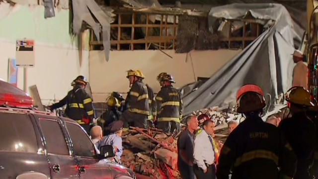 Deadly building collapse in Philadelphia
