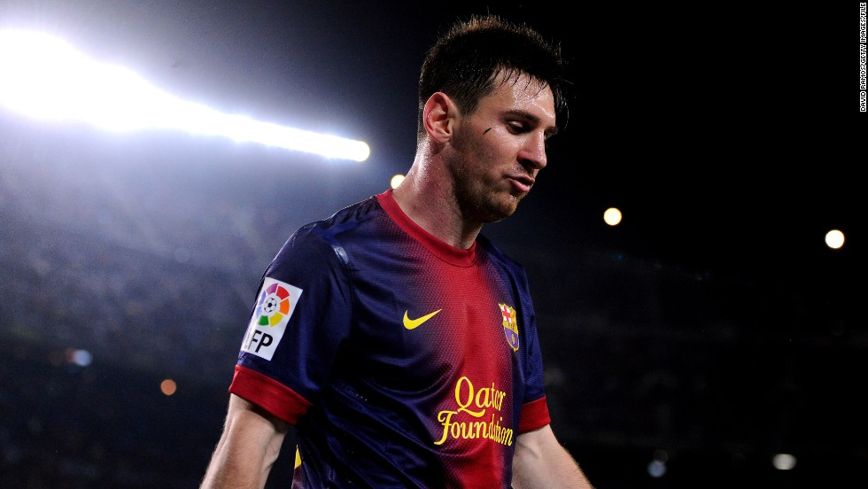 Barcelona star Lionel Messi is used to finishing top of the pile. But the four-time FIFA Ballon d'Or winner is the third-highest-earning footballer, with Adidas launching a signature line for the Argentine earlier this year.