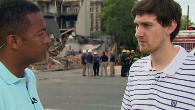 Building Collapse in Philadelphia