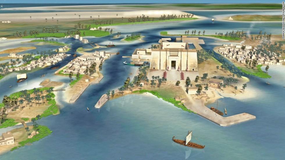 Relics Of Lost Egyptian City Resurface Cnn Com
