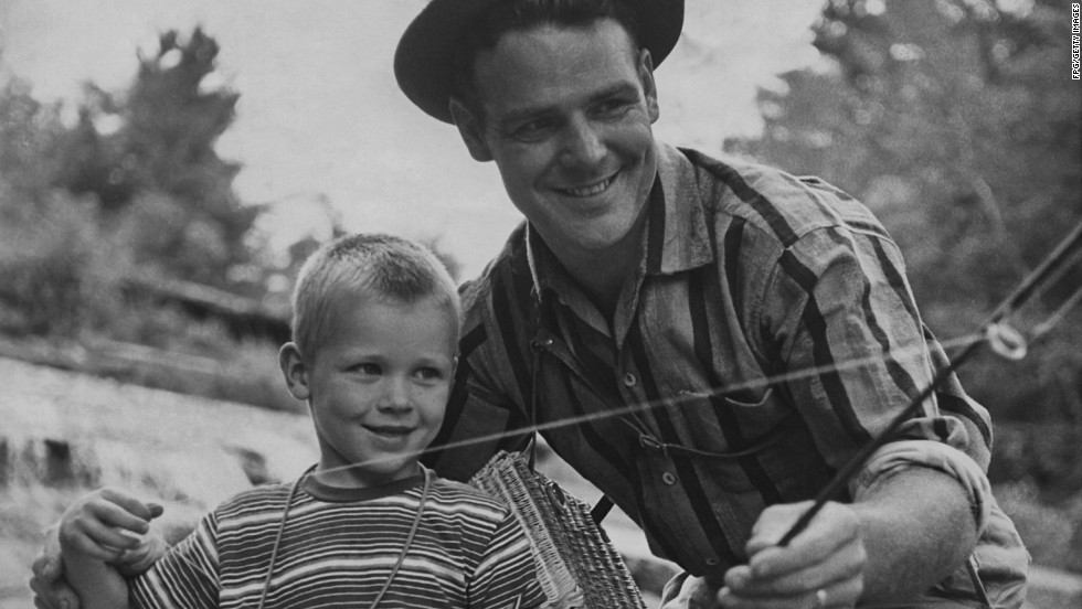 """Nothing says 'I love you, Dad!' like a gift for him to use on days spent away from the family from sunup to sundown,""  Byrom shared. Fishing equipment -- similar to golf accoutrements -- symbolizes dads spending time away from home. ""The thing that appeals the most to me about the idea of fishing is just sitting around drinking beer,"" Walsh said. ""So, let's cut out the middlefish and just <a href=""http://eatocracy.cnn.com/2013/06/13/gifts-for-beer-lovers/"">get me some beer</a>. And maybe a seafood dinner."""