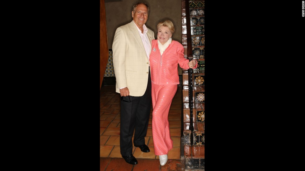 Williams and her husband, Edward Bell, attend the 87th annual installation and awards luncheon for the Hollywood Chamber of Commerce at the Hollywood Roosevelt Hotel on April 9, 2008.