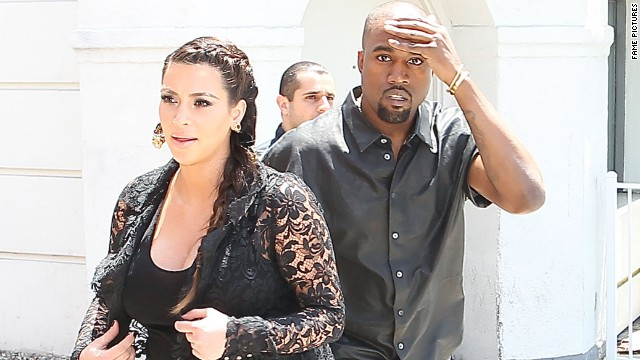 Rapper Kanye West has complained in the past of his and girlfriend Kim Kardashian's treatment by the paparazzi.