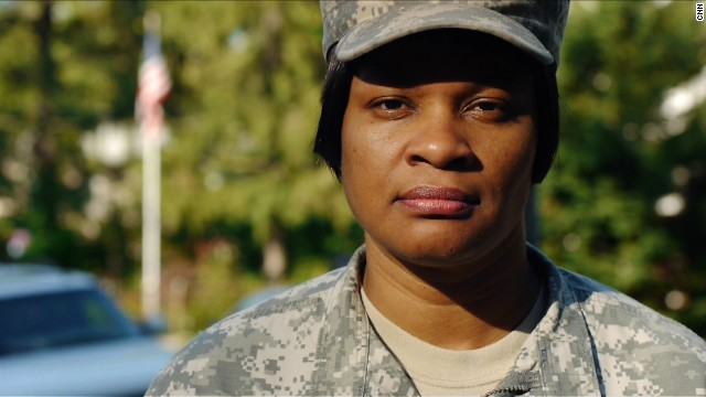 "Jaspen Boothe is committed to helping her female comrades, ""whether they're in or out of uniform."""