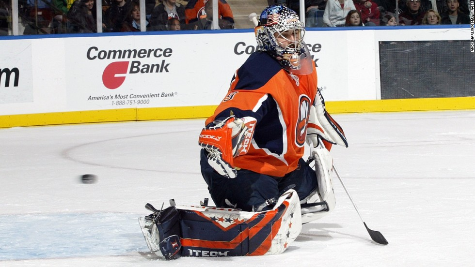 Former NHL goaltender Rick DiPietro signed a $67 million contract with the New York Islanders, and though he no longer plays in the NHL, will get paid until 2021.
