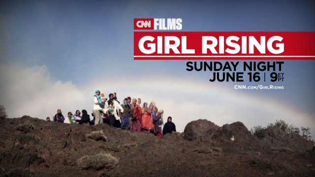 'Girl Rising,' coming 9 p.m. ET Sunday