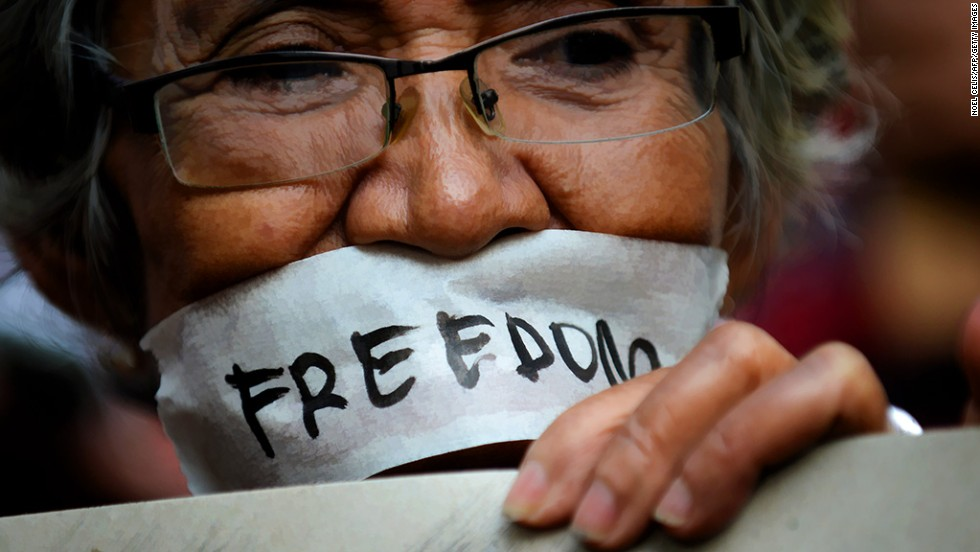 "<strong>Free speech crackdown:</strong> One country ranks lower than North Korea when it comes to free speech. <a href=""http://www.cnn.com/changethelist"">Vote here.</a>"