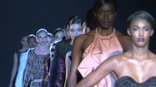 A fashion show to inspire Africa