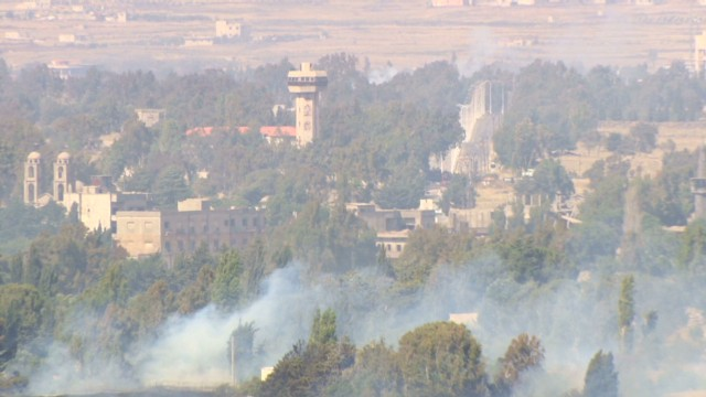 Civil war draws closer to Golan Heights