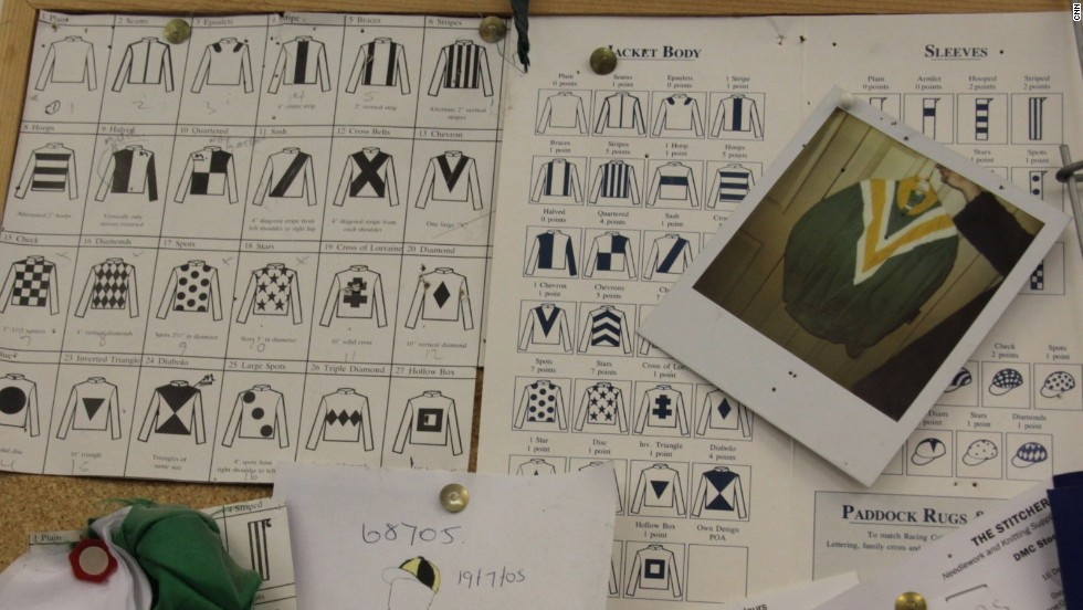 Dating back to the 18th century, jockey silks -- named after their original material -- are crucial to identifying horses galloping around a race track.