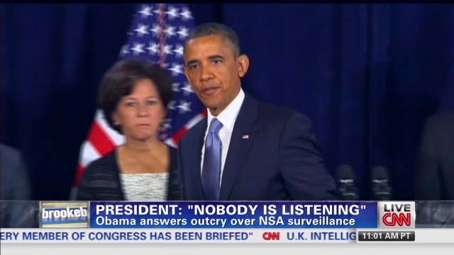 Obama answers outcry over NSA