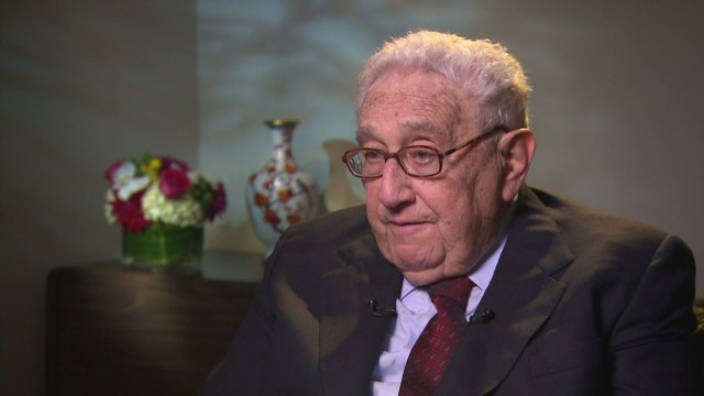 Kissinger on U.S.-China relations