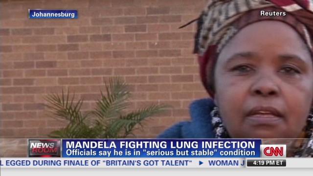 Nadia Bilchik gives latest on Mandela