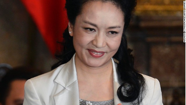 Chinese First Lady Peng Liyuan is an UN goodwill ambassador for AIDS