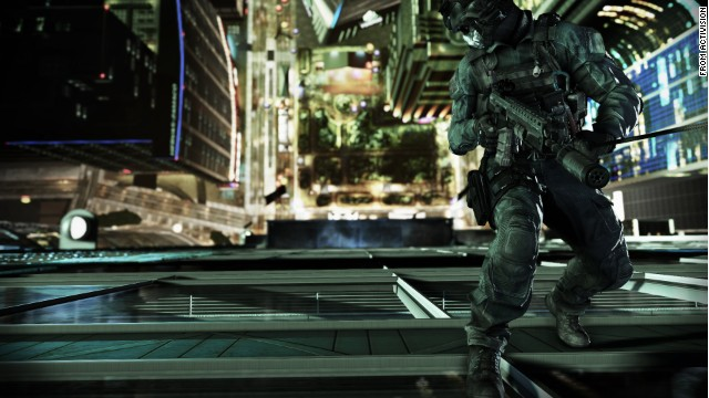 """Call of Duty: Ghosts"" is one of many high-profile games being showcased this week at the Electronic Entertainment Expo."