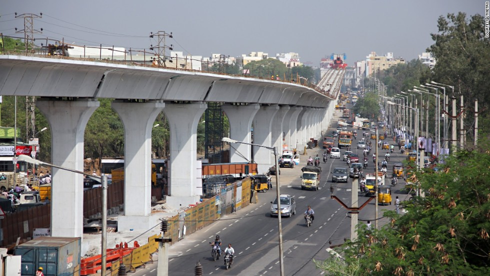 Developers say the 72-kilometer long track will improve journey times and reduce traffic on the city's congested roads.
