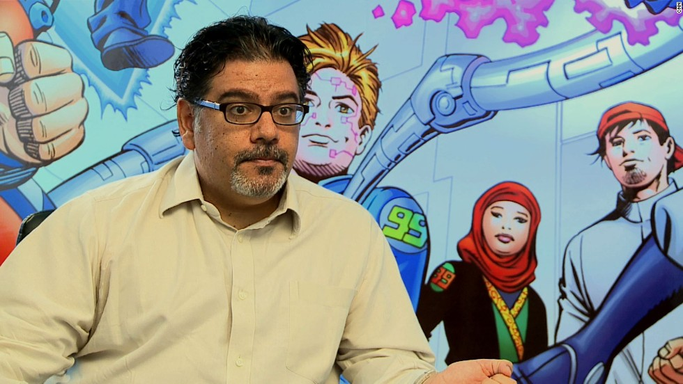 Al Mutawa created a new comic universe.