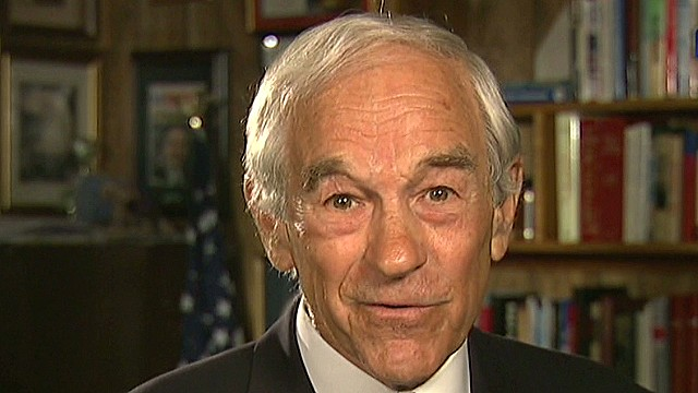Ron Paul on Snowden: It's a heroic effort