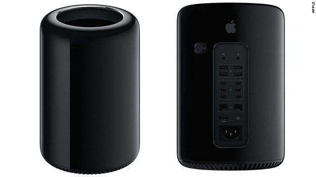 The sleek black Mac Pro doesn't look like anything else on the market.