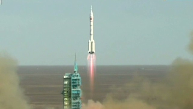 Witnessing a Chinese rocket launch
