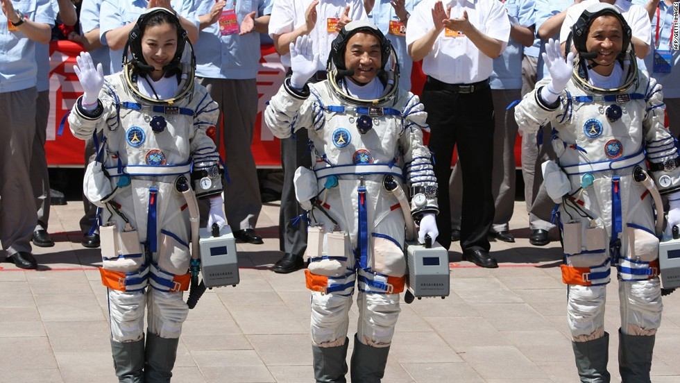 Yaping, Xiaoguang and Haisheng wave on June 11.