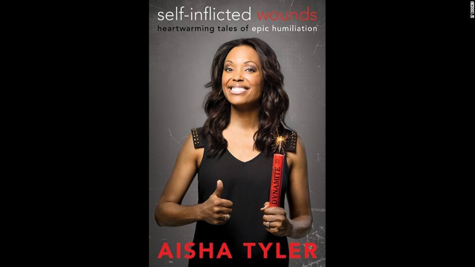 "<strong>(July 9) </strong>Aisha Tyler has been a comedian, an actress, and a TV personality, and now the 42-year-old is moving back into author territory. In a collection of essays called ""Self-Inflicted Wounds,"" which is named after her popular podcast segment, Tyler recounts the ""epic humiliations"" she's lived through and learned from."