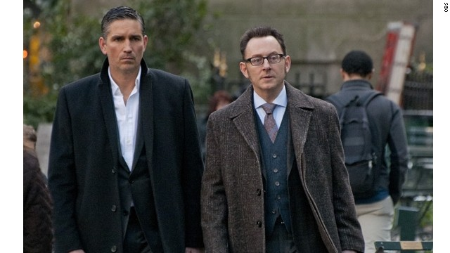 """Person of Interest"" stars Jim Caviezel and Michael Emerson as two men using the surveillance state to right wrongs."