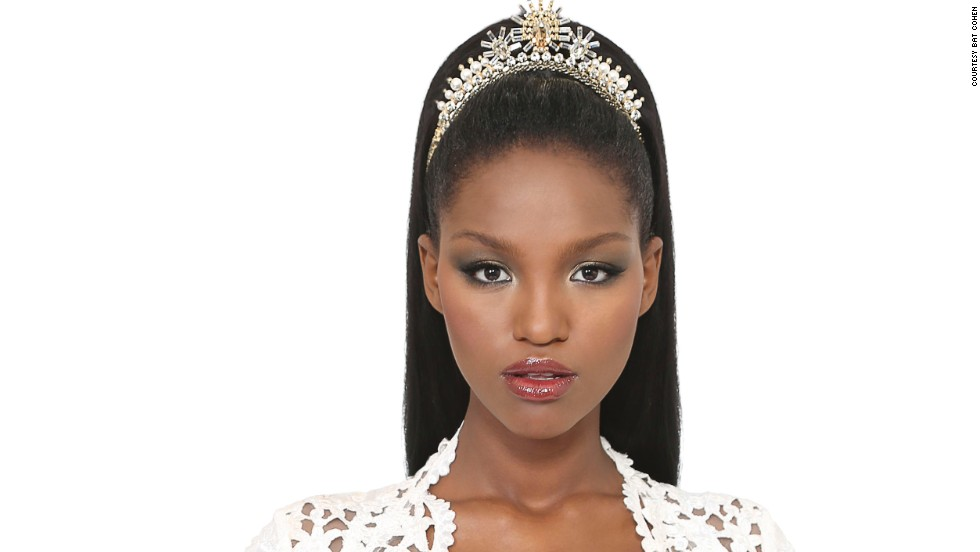 The stunning 21-year-old relocated to Israel at the age of 12 to live with her Ethiopian Jewish grandparents after the death of her mother.