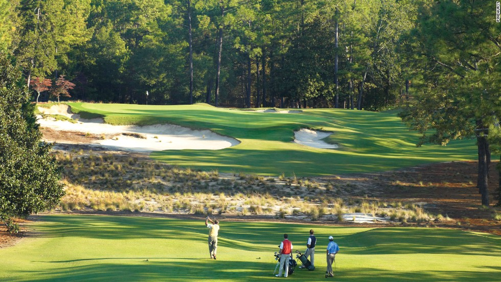 Pinehurst No. 2 hosted a PGA Championship in 1936, a Ryder Cup in 1951 and its second U.S. Open in 2005. Next year, it will become the first venue to host a U.S. Open and a U.S. Women's Open in subsequent weeks. Stay-and-play packages from $488.