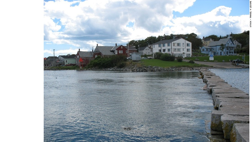 Lubec, Maine, features a Victorian-style downtown, 97 miles of shoreline, two lighthouses and access to the former Roosevelt summer home on Campobello Island.